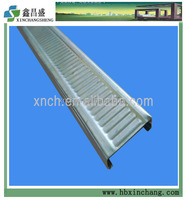 Suspended ceiling channel