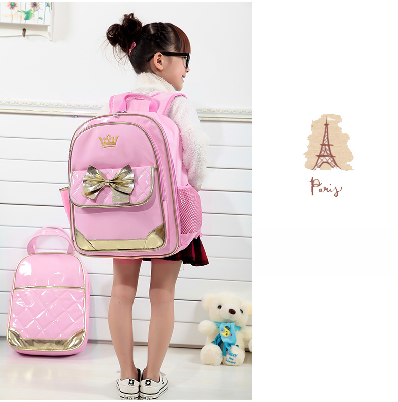 new wholesale handmade student children bookbags backpack school