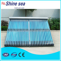 Hot selling 18tube evacuated solar thermal collector tubes