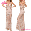 New Arrival V-Neck Long Sexy Wedding Ladies Western Dress Designs