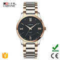 japan movt women man couple stainless steel quartz watch