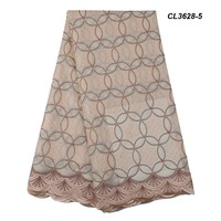 New arrival fashion coloured voile curtains latest style swiss lace indian cotton fabric in design for sexy lady wedding