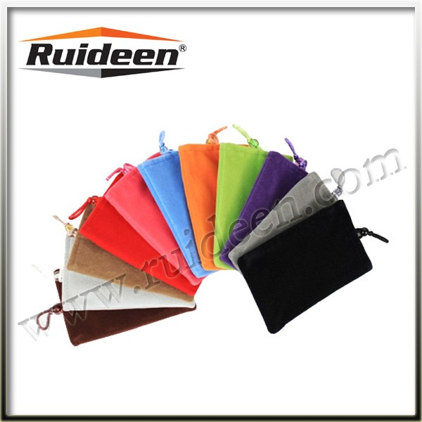 Customize High Quality Velvet Mobile Phone Bags & Cases
