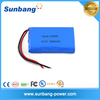 Rechargeable 3.7v 18650 lithium ion battery 1800mAh for POS terminal