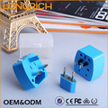 High quality customized made-in-china world travel adapter electric plug (NT200)