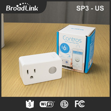 BroadLink american style electrical outlet conference convenience table power socket outlet controlled via smart phone