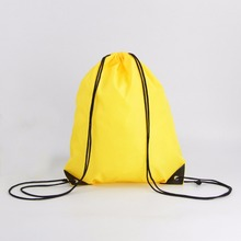 No printing spot children's school bag drawstring sports bag for sale