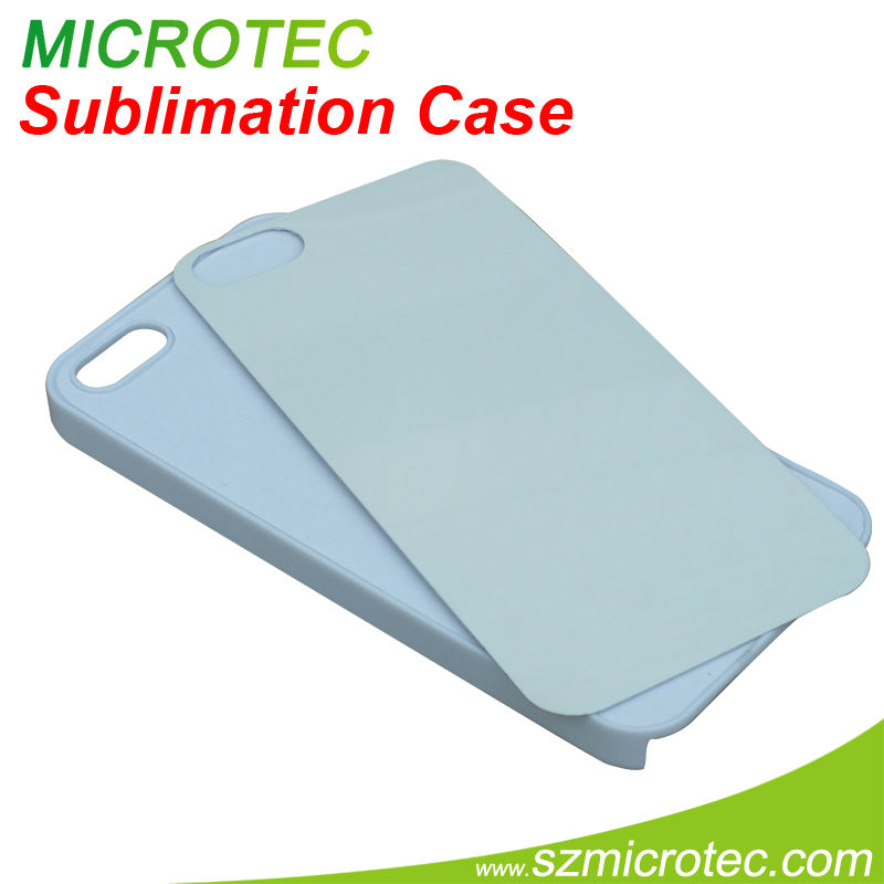 Printable hard plastic for iphone5 sublimation case cover