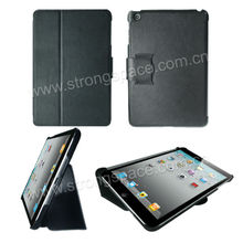 Lichi Pattern Ultra Thin Magnetic Flip Stand Leather Case for iPad Mini