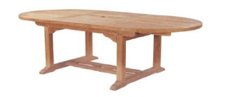 Oval Ext Table 180