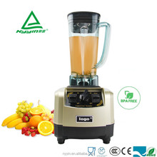 Heavy duty powerful customizable food processor ice crushing electric blender