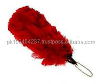 "Red 4"" Hackle feathers"