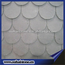 2013 hot sale high quality natural slate wavy roof tile