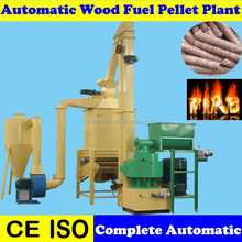 Hard Wood Sawdust Turn-Key Biomass Pellet Plant with CE