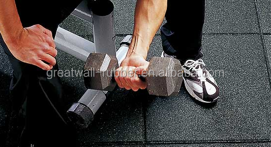 EPDM Rubber Gym Mats, Fitness Flooring