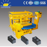 Egg laying concrete block machine QMY4-30 in Shandong Province China