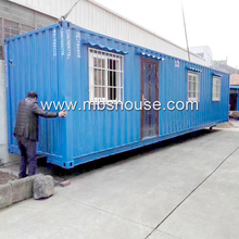 Pre-made light Steel structure shipping container house, customized container house
