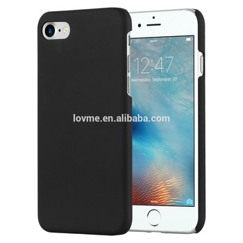 New Hard Matte Rubberized mobile phone Case For Apple iPhone 7, For iPhone 7 Rubber Oil Painted Back Cover