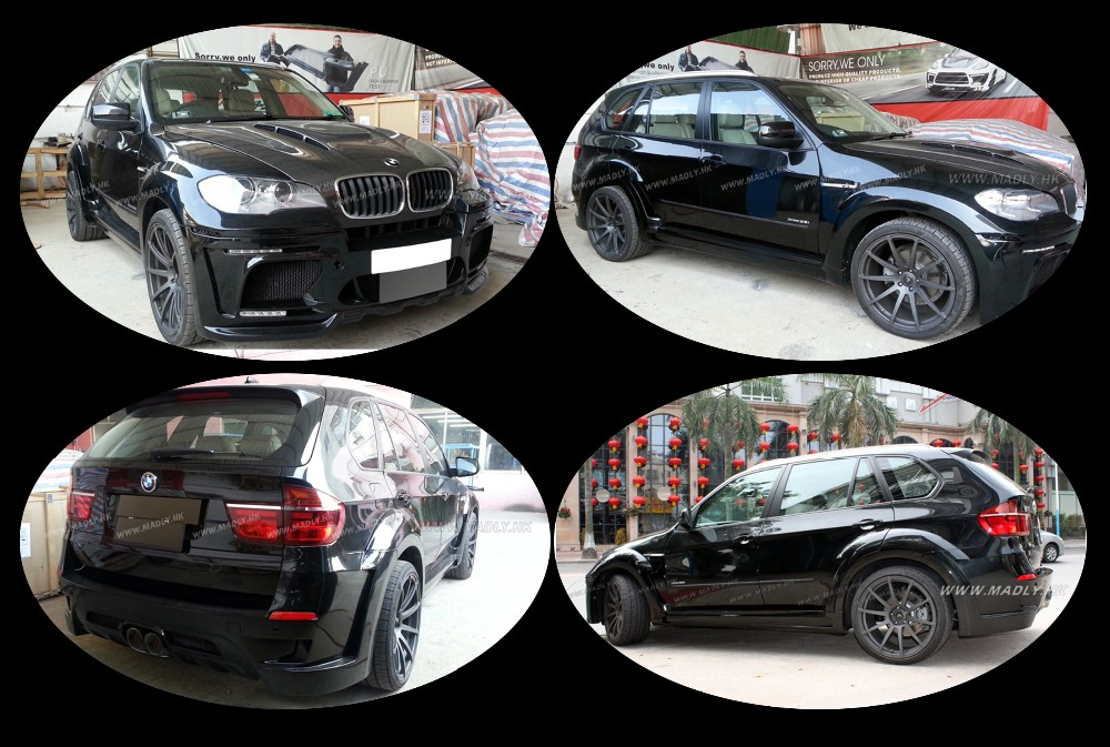 Hot!2007-2013 Bodykit for B MW X5M HM Y Style