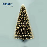 Eco-friendly reclaimed material table decoration wooden christmas tree