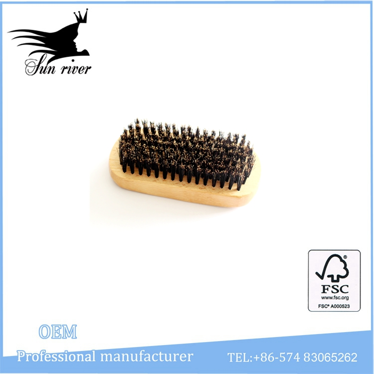 High quality easy-taking wooden moustache comb