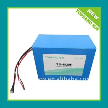 electric vehicle battery 48v 20ah+BMS factory direct sale