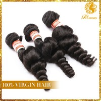 6A Malaysian Virgin Hair, Loose Wave, Topfashion Loosewave Hair Extension Free Shipping