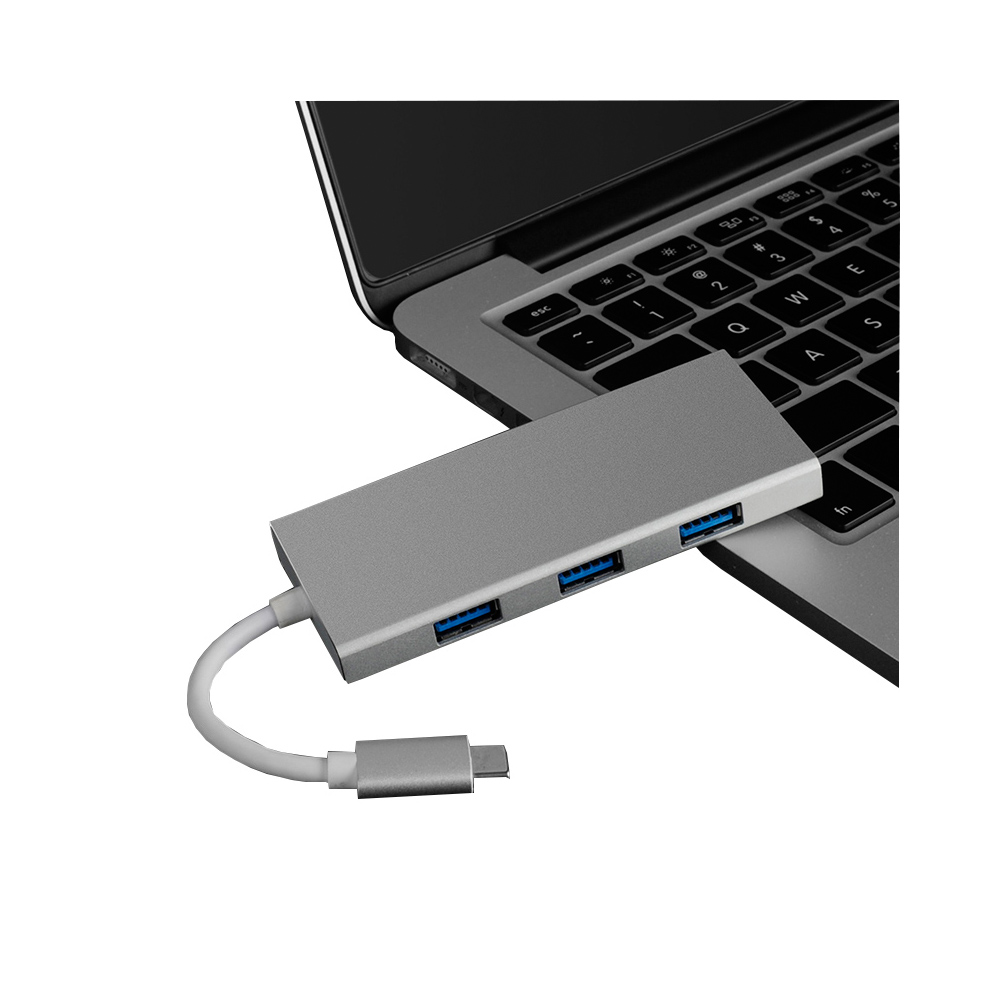 New products 2017 innovative product in Competitive price C800 with charging function laptop mac book Type c usb 4 port 3 hub