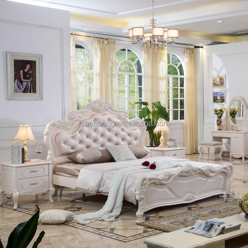 Chine gros classique franais style baroque de la chambre meubles set with chambre style baroque - Chambre bebe style baroque ...