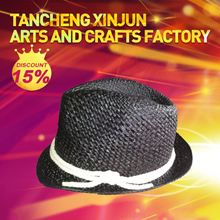 China Gold Supplier Most Popular Panama Fedora Straw Hat