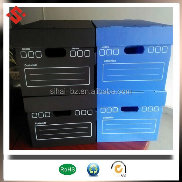 pp corrugated storage box