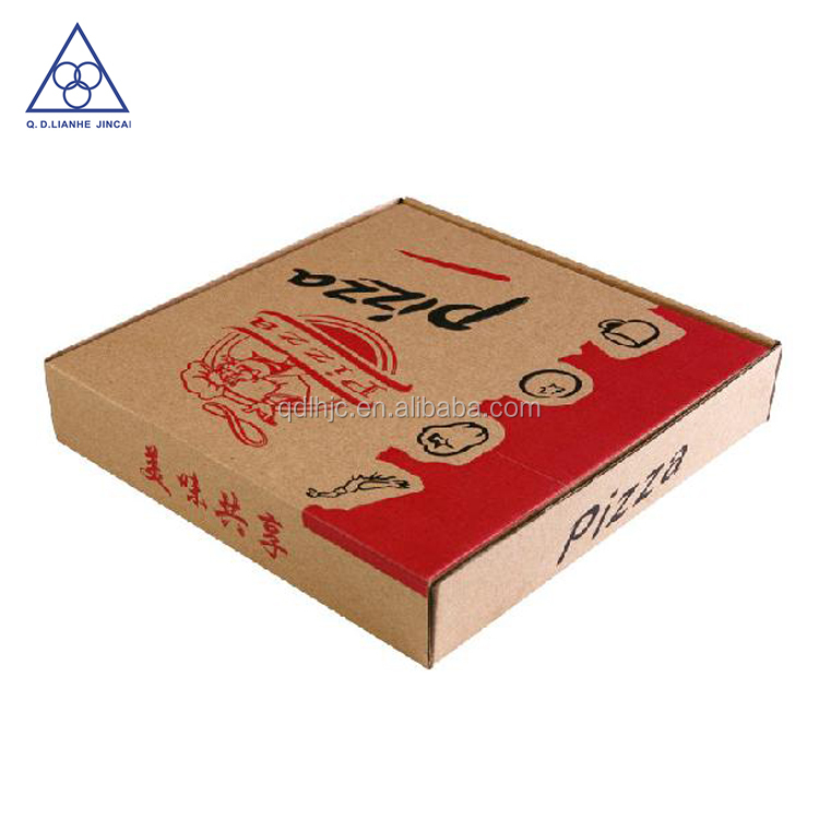 Customed logo accepted OEM cheap pizza boxes design wholesale