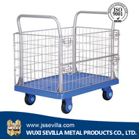 Heavy Duty Foldable Transportation Platform Trolley