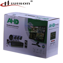 Factory price 4CH ahd 720P cctv dvr kit waterproof and night vision cctv camera Security System