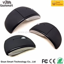 Hot Selling CE ROHS WM-11 2.4Ghz Wireless Drivers USB 3D Optical Mouse Mini Arc Shape Foldable Mouse for Business