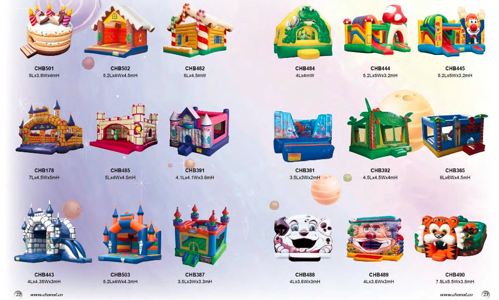 Outdoor inflatable Jumping princess castle for sale