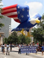 custom flying bald eagle giant American inflatable eagle balloon