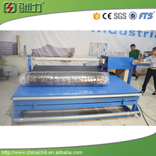 Spring&Foam mattress Semi Automatic roll packing machine