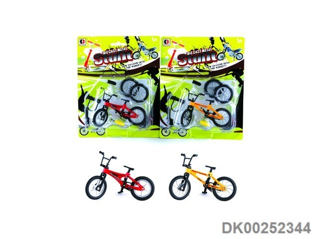 Hot Sale Finger Bicycle Kids Toys 2 Kinds Blister Card With EN71 ASTM Certificate