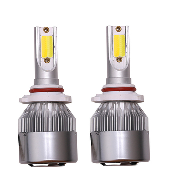 Auto Lighting HB3 HB4 H11 H4 H7 Led H1 H3 Car LED Headlight Dual Color Bulbs C6 LED Auto Led Headlight