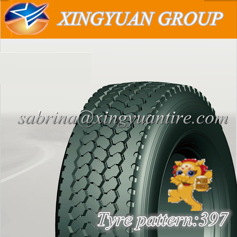 cheap chinese tires annaite brand 385/65R22.5 turkce