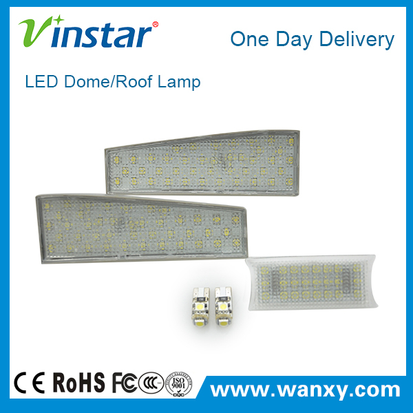 Best selling 12V auto SMD led roof light led dome lamp led car reading light auto led interior lights for Ben.z W204/W207/W212 G