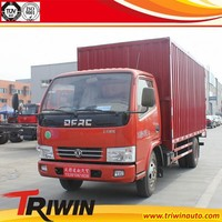 4x2 6-wheel 130hp DFA5080XXY39DBAC 4.5 ton cheap small van carry container truck for sale
