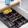 Plastic Battery storage organizer and Tester