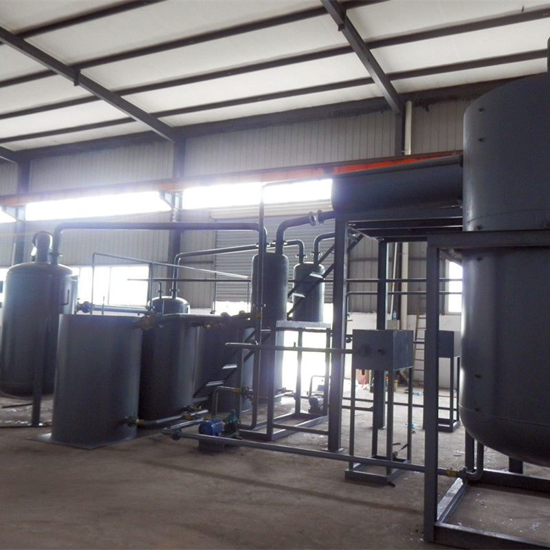 Hot sale vacuum waste slop oil recycling treatment system