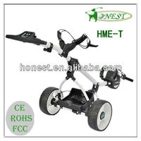 Folding Electric Golf Caddy with adjustable handle(HME-T)
