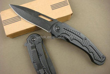 OEM Tusya dragon folding knife survival knife with clip UD40767