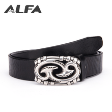 Alfa Unique Products Personalized Genuine Pure Leather Classic Mens Fashion Jeans Belt