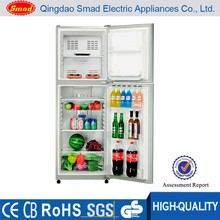 White/Silver/Stainless steel color vertical Auto Defrost Refrigerators