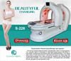 4 colors ray infrared BIO body shaping detoxing spa equipment with CE approvement